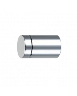 Flat Top Standoff Standoffs are available in polished chrome, satin silver, and available in both aluminum and brass. The Standoff is ideal for suspending logo panels, photography, signage, glass, wood, and nameplates providing a modern, clean look..
